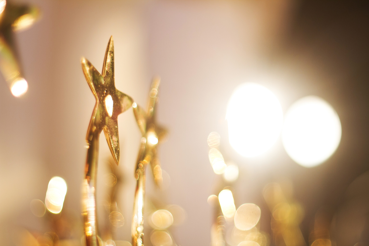 star Trophies for the winner